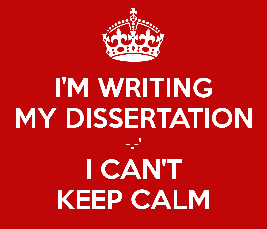 Doctoral dissertation in english literature